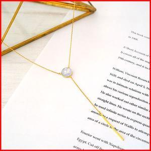 ネックレス アクセサリー チェーン レディース ロング アジャスター 結婚式 誕生日 ペンダント てふてふ おしゃれ かわいい プレゼント ガラス 花 ゴールド|petstore