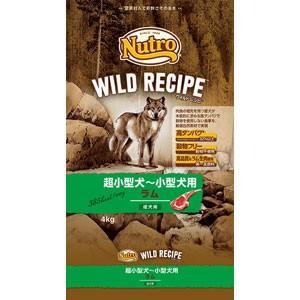ナチュラルチョイス ワイルドレシピ 超小型犬〜小型犬 成犬用 ラム(4kg)ニュートロ/Nutro Natural Choice