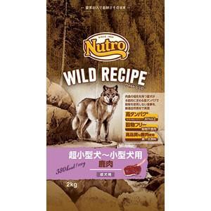 ナチュラルチョイス ワイルドレシピ 超小型犬〜小型犬 成犬用 鹿肉(2kg)ニュートロ/Nutro Natural Choice
