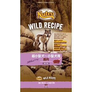 ナチュラルチョイス ワイルドレシピ 超小型犬〜小型犬 成犬用 鹿肉(4kg)ニュートロ/Nutro Natural Choice