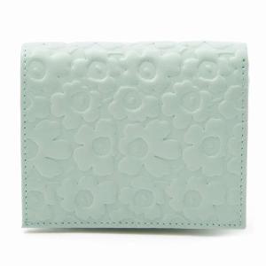 marimekko KATRI 043650 light green レディース 二つ折り財布 ウニッコ マリメッコ|pettyne