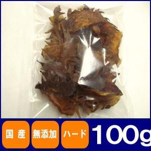 お徳用鶏とさか100g 国産 無添加 無着色 犬用|petyafuupro
