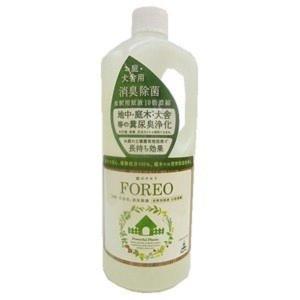ペット用消臭剤 フォレオ お庭・犬舎用 消臭除菌 1000ml|petyafuupro