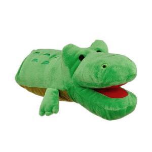犬 おもちゃ ぬいぐるみ アニマルミトン HAPPY ZOO わに|petyafuupro