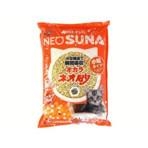猫砂 おから ネオ砂 オカラ 小粒タイプ1ケース(5.5L×8袋) petyafuupro