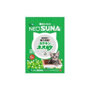 猫砂 紙 ネオ砂 カテキン 1ケース(6L×8袋)|petyafuupro