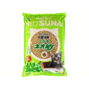 猫砂 ひのき ネオ砂 ヒノキ 1ケース(6L×8袋)|petyafuupro