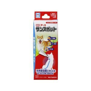 【ネコポス便対応】アース・バイオケミカル 薬用アースサンスポット 中型犬用 1本入り 送料260円|petyafuupro