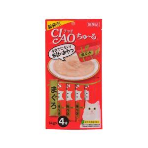 猫 おやつ チャオ ちゅ〜る まぐろ 4本入り|petyafuupro