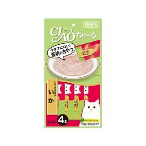 猫 おやつ チャオ ちゅ〜る とりささみ&いか 4本入り|petyafuupro