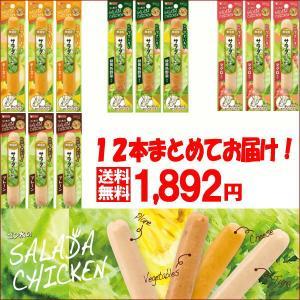 【送料無料】ゴン太のサラダチキンシリーズ12本セット|petyafuupro
