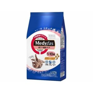 キャットフード メディファス 皮フ・毛艶のケア 1-10歳 チキン&フィッシュ味 ( 235g*2袋 ) petyafuupro
