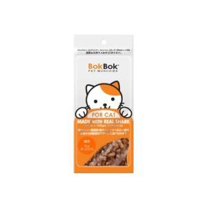 【訳あり数量限定】BokBok ボクボク猫用 サメオリジナル 35g 猫用ジャーキー|petyafuupro