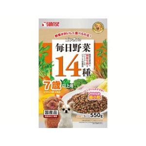 【訳あり数量限定】 ゴン太の毎日野菜14種 7歳以上用 550g/サンライズ|petyafuupro