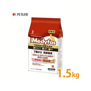 メディファス 7歳から高齢猫用 チキン味 1.5kg|petyafuupro
