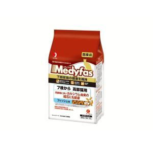 メディファス 7歳から高齢猫用 フィッシュ味 600g(300g×2袋)|petyafuupro