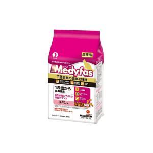 メディファス 15歳から長寿猫用 チキン味 600g(300g×2袋)|petyafuupro