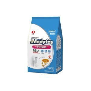 メディファス インドアキャット 1歳から成猫用 下部尿路の健康維持に チキン&フィッシュ味 1.4kg(280g×5袋)|petyafuupro