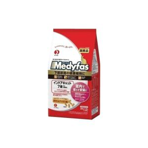 メディファス インドアキャット 7歳から 高齢猫用 チキン&フィッシュ味 560g(280g×2袋) petyafuupro