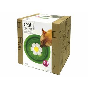 猫用給水器  フラワーファウンテン|petyafuupro