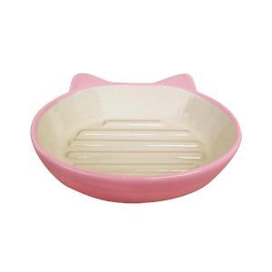 猫用食器 Pet rageous designs! イージーダイナーキャットディッシュ ピンク|petyafuupro
