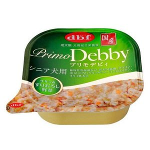 プリモデビィ シニア犬用 ササミ&すりおろし野菜 95g×24個(ケース販売)|petyafuupro
