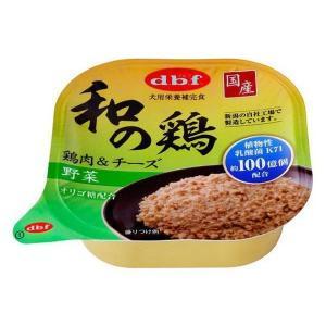和の鶏 犬用 鶏肉&チーズ 野菜 95g×24個(ケース販売)|petyafuupro