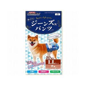 犬用オムツ ドギーマン ジーンズ風パンツ LL|petyafuupro