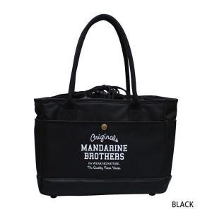 犬 キャリーバッグ マンダリンブラザーズ MINI CARRY BAG ブラック MANDARINE BROTHERS|petyafuupro