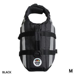 犬 ライフジャケット マンダリンブラザーズ LIFE JACKET ライフジャケット ブラック Mサイズ MANDARINE BROTHERS|petyafuupro