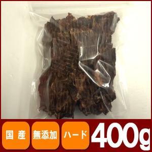 犬 おやつ 無添加 業務用牛タンルート400g|petyafuupro