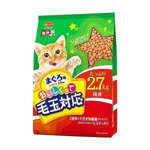 【現品限り】日本ペットフード ミオ毛玉対応まぐろ味2.7kg|petyafuupro