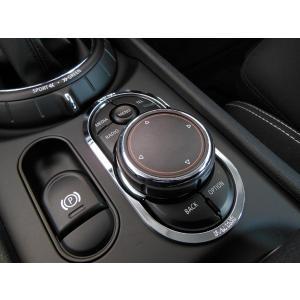 BMW MINI F54 ナビコントロールスイッチトリム (クローム) ミニクーパー クラブマン 内装パーツ