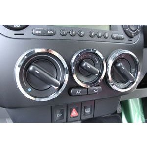 VW New Beetle (ニュービートル) グランツエアコンダイヤルリング 3pcs Volkswagen(フォルクスワーゲン)