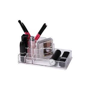 Boe アクリル製 コスメ メイクアップ 化粧品収納ボックス 宝石宝飾 化粧ブラシホルダー 化粧台 洗面台 ラック A pfgo