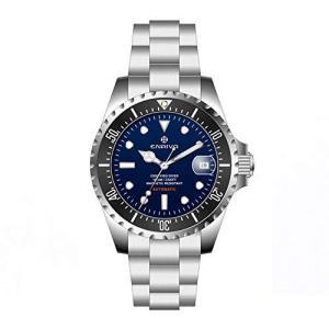 ENRIVA ダイバーズウォッチ 自動巻き 腕時計 日付表示 1000メートル専門防水 NH35 スポーツ ダイバースタイル サファイアガラス メンズ|pfgo