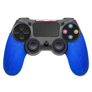 PS4 ワイヤレス コントローラー 無線USB 接続 PS4 ゲームパッド PS4/PS4 Pro/Slim/PC対応 高耐久ボタン 人間工学 二重振|pfgo