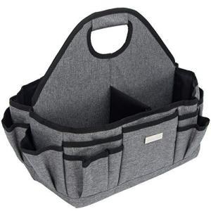 [Pacmaxi]おむつストッカー ベビー用品 収納/保管/持ち運び 周囲14個ポケット 折りたたみ 移動可の面ファスナー式の仕切り付 底板あり オム|pfgo