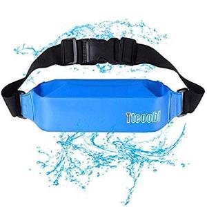 Mercs 防水ポーチ 防水バック ランニングポーチ ウエストバッグ PVC 防水 大容量 調節可能 雨 海 登山 ジョギング 釣り メンズ レディー|pfgo