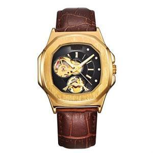 ManChDa 腕時計 自動機械式スケルトン スポーツ時計 男性高級アナログ ダイヤルのデザイン|pfgo