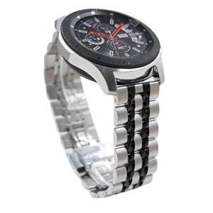 22mm ステンレススチール 時計バンド クイックインストール メタル 時計バンド Samsung Galaxy Watch 46mm Gear S3|pfgo