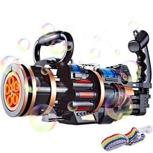 JTLB バブルマシン シャボン玉 シャボン玉製造機 電動 プラスチック おもちゃ 面白い 音楽付き ライト付き 自動式シャボン バブルガン お風呂 pfgo