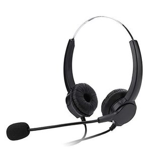 電話ヘッドセット コールセンターヘッドセット 騒音低減 伸縮性 音量調整 人間工学 耐久性 USBヘッドホン 販売 保険 病院 通信事業者など用 両耳 pfgo