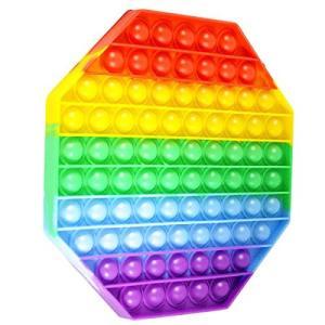 iRoom プッシュポップ スクイーズ玩具 知育 ストレス解消 フィジェット 六角形 多角形 ヘキサゴン pfgo