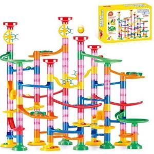 Ms.0 スロープトイ 133P ビーズコースター ビー玉転がし 知育玩具 組み合わせ おもちゃ pfgo