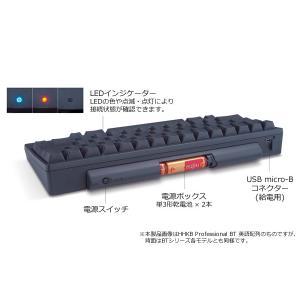 Happy Hacking Keyboard Professional BT 日本語配列/墨 pfudirect 03
