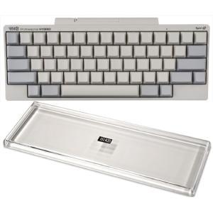 HHKB Professional HYBRID Type-S 無刻印/白(英語配列)、キーボードル...