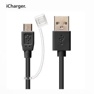 急速充電 Quick Charge 2.0対応 micro USBケーブル 2A ブラックPG-MQC05BK pg-a