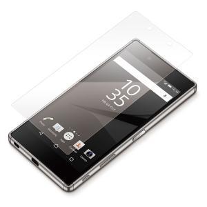 Xperia Z5 Premium用 液晶保護フィルム 衝撃吸収 光沢PG-X5PSF10|pg-a