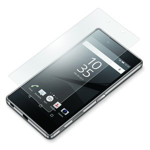 Xperia Z5 Premium用 液晶保護ガラス アンチグレアPG-X5PGL13|pg-a